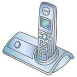 Teléfono inalámbrico Foto de archivo libre de regalías