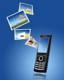 Teléfono móvil. Fotos de archivo libres de regalías