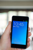 Teléfono móvil fotografía de archivo libre de regalías