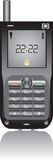 Teléfono móvil aislado Foto de archivo libre de regalías