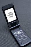 Teléfono móvil celular 03 de la tecnología Fotografía de archivo libre de regalías