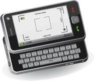 Teléfono móvil con la cámara Fotografía de archivo libre de regalías