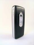 Teléfono móvil con las cámaras digitales Fotografía de archivo libre de regalías