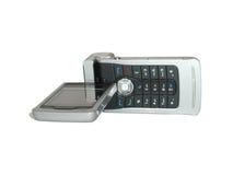 Teléfono móvil del G/M con la leva foto de archivo