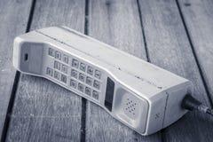 Teléfono móvil del vintage Foto de archivo