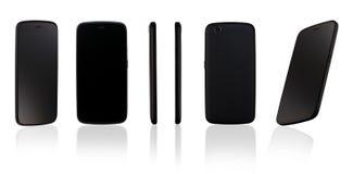 Teléfono móvil en el fondo blanco Imagen de archivo