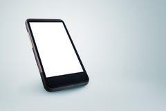 Teléfono móvil genérico con la pantalla en blanco Imagenes de archivo