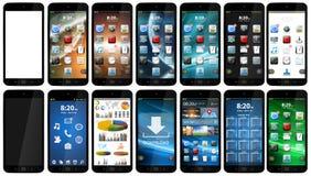 Teléfono móvil moderno Fotografía de archivo libre de regalías