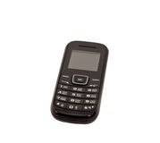 Teléfono móvil negro fotografía de archivo libre de regalías