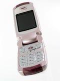 Teléfono móvil para las mujeres fotografía de archivo