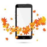 Teléfono móvil realista stock de ilustración