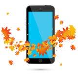 Teléfono móvil realista ilustración del vector