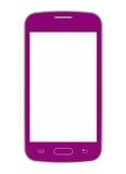 Teléfono móvil rosado Fotos de archivo libres de regalías