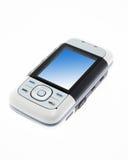 Teléfono moderno aislado Imagen de archivo libre de regalías