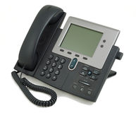 Teléfono moderno de Digitaces Fotografía de archivo