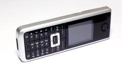 Teléfono moderno de los DECT Fotos de archivo libres de regalías