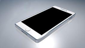 Teléfono moderno realista Foto de archivo libre de regalías
