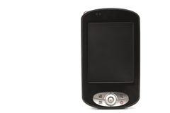 Teléfono negro del PDA Fotografía de archivo