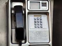 Teléfono público imagen de archivo