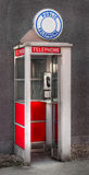 Teléfono público Foto de archivo libre de regalías