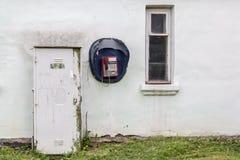 Teléfono público público Imágenes de archivo libres de regalías