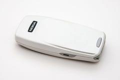 Teléfono a partir de 2000 s de Nokia del vintage Fotografía de archivo