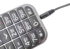 Teléfono portátil Imagen de archivo libre de regalías