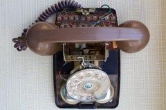 Teléfono quebrado Imagen de archivo libre de regalías