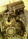Teléfono retro Fotografía de archivo