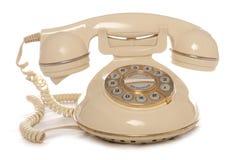 Teléfono retro Fotografía de archivo libre de regalías