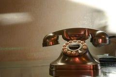 Teléfono retro Fotos de archivo libres de regalías