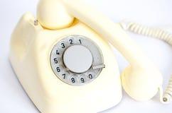 Teléfono retro del vintage Fotos de archivo
