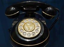 Teléfono rotatorio de la vendimia Imagenes de archivo
