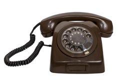 Teléfono rotatorio retro Fotos de archivo libres de regalías