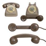 Teléfono rotatorio retro Imágenes de archivo libres de regalías