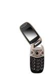 Teléfono roto aislado fotografía de archivo