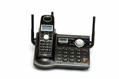 Teléfono sin cuerda Foto de archivo libre de regalías