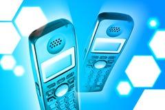 Teléfono sin cuerda I stock de ilustración