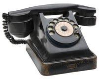 Teléfono viejo foto de archivo