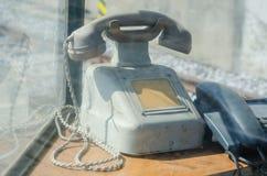 Teléfono viejo fotos de archivo
