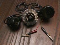 Teléfono viejo del servicio Fotos de archivo libres de regalías