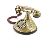 Teléfono viejo del vintage Fotografía de archivo libre de regalías