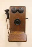 Teléfono, viejo estilo Fotos de archivo