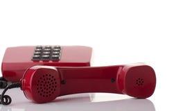 Teléfono y receptor Foto de archivo