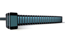Teléfonos Foto de archivo libre de regalías