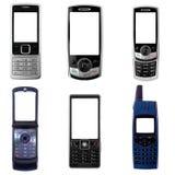 Teléfonos celulares Imágenes de archivo libres de regalías