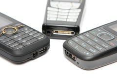 Teléfonos celulares Fotos de archivo