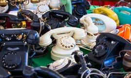 Teléfonos del vintage Fotografía de archivo libre de regalías