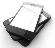 Teléfonos móviles Foto de archivo libre de regalías