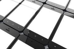 Teléfonos móviles Imagen de archivo libre de regalías